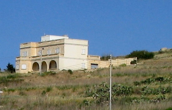 A farmhouse on Gozo